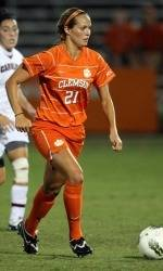 Clemson Women's Soccer Team to Face #10 Florida State in ACC Home Opener Thursday Night