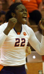 Clemson Volleyball Set to Travel to College of Charleston Invitational