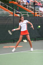 Mijacika Falls In Finals At ITA National Indoor Intercollegiate Tennis Championships