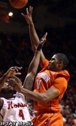 Tigers' Gritty Effort Falls Just Short in 67-65 Loss at Virginia Tech