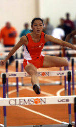 Clemson Women's Track and Field Team Wraps Up Clemson Indoor Classic