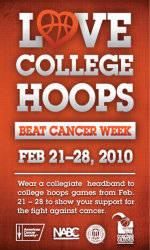 Inaugural Love College Hoops…Beat Cancer Week Set for Feb. 21-28