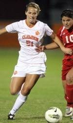 Clemson Women's Soccer Team Sends Seniors Out with 4-0 Win Over Francis Marion Thursday Night