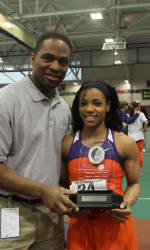 Clemson Women Earn Third Straight ACC Indoor Track & Field Championship