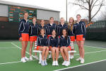 Tiger Tennis Claims Share Of ACC Regular Season Title With 6-1 Victory Over Virginia Tech On Sunday