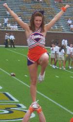 Clemson Cheerleaders Qualify for NCA/NDA College Nationals