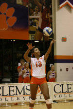 Clemson Volleyball Downs NC State In Three On Saturday