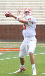 Harper Leads Orange to 35-16 Win in Clemson Spring Game