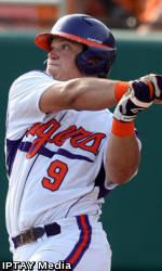 Clemson Baseball Team to Play Host to Coastal Carolina Tuesday Evening