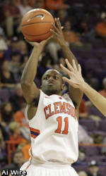 Clemson Men's Basketball Team to Play Host to College of Charleston Saturday Night