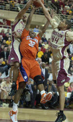 Boston College Just Gets By Clemson, 59-54