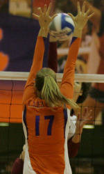 Clemson's Patzin, Rand Named to All-ACC Academic Volleyball Team