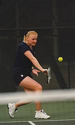 Clemson Women's Tennis Downs #44 Oklahoma