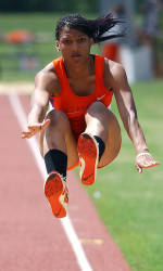 Mamona Strengthens Triple Jump Mark at Virginia Tech Last Chance Meet