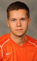 Clemson's Benediktsson Named ACC Men's Soccer Player of the Week
