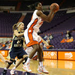 Tate, Hardy Lead Clemson To 85-60 Win Over Charleston Southern On Tuesday