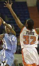 North Carolina Downs Clemson 89-85 In Women's Hoops