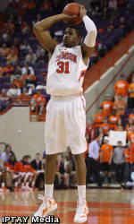 Clemson Men's Basketball Team to Face Wake Forest Saturday in Winston-Salem