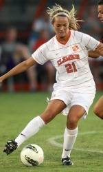 Tiger Women's Soccer Team Falls to NC State in Overtime on the Road Thursday