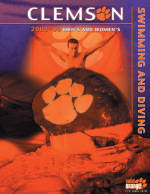Vote for Clemson's Swimming & Diving Media Guide Cover for Cover-of-the-Year