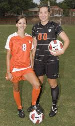Clemson Football Game Program Feature: Seniors Marci Elpers & Samantha Fortier