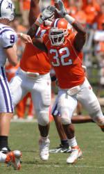 Clemson Football Game Program Feature: Nick Watkins