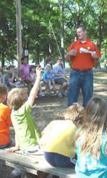 Clemson Student-Athletes Speak at Camp Oneot