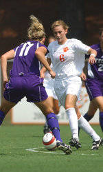 Clemson Women's Soccer Team to Play Host to Western Carolina Sunday