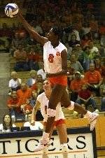Clemson Volleyball Sweeps Boston College, 3-0, On Friday Night