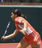 Tigers' Julie Coin Advances To Round Of 16 In NCAA Singles Tournament