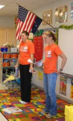 Solid Orange Squad Visits Northside Elementary School