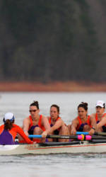 Clemson's First Varsity Eight Named ACC Rowing Crew of the Week