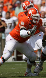 Clemson Football Game Program Feature: Brandon Pilgrim