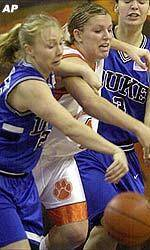 Lady Tigers To Face No. 5 Duke Sunday Afternoon
