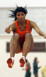 Lady Tiger Track & Field at ACC Indoor Championships