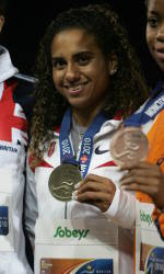 Kendrick Claims Pair of Gold Medals at IAAF World Junior Championships
