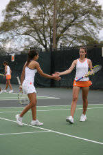 Two Tiger Women's Tennis Players Named All-ACC