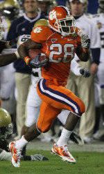 Spiller Sixth in Final Heisman Voting