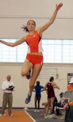 Clemson's Liane Weber Claims ACC Pentathlon Crown
