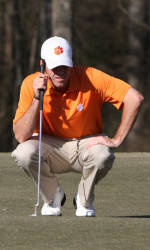 Clemson Tied for Seventh As Play Suspended in Second Round