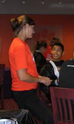 Solid Orange Squad Hosts Lumbee Tribe Boys and Girls Club on November 11