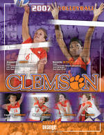 2007 Clemson Volleyball Media Guide