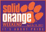 2011 Solid Orange Weekend Schedule of Events