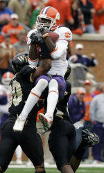 No. 15 Clemson Rallies For 27-17 Win At Wake Forest