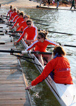 Clemson Dominates Scrimmage with Georgetown in Rowing Saturday