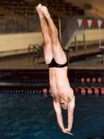 Shulick Completes Competition at NCAA Zone Diving Regional