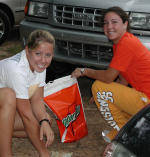 Rowing Team Participates in Lake Hartwell Clean-up