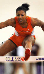 Hurdlers, Throwers Pace Tiger Track & Field at Virginia Tech Qualifier