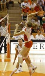Rand Powers Clemson Past Boston College, 3-0, in Friday Volleyball Action