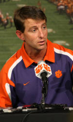 Watch Coach Swinney's Press Conference Live on All-Access Tuesday at 11:00 AM